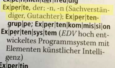 Unsere Experten